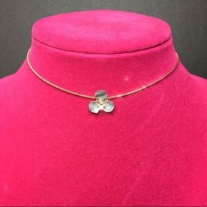 Jewelry - Adjustable Necklace with flower.